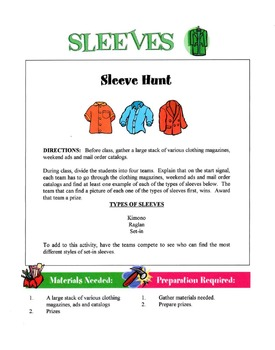 Sleeves In Garment Construction Lesson
