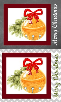 Sleigh Bell Illustration & Downloadable Prints, Printable Tracey Gurley Designs