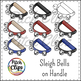 Sleigh Bells and Jingle Bells Clipart (Clip art) - Commercial Use, SMART OK!