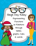 Representing  Functions through tables, graphs, rules & words: Sleigh Day Relay!