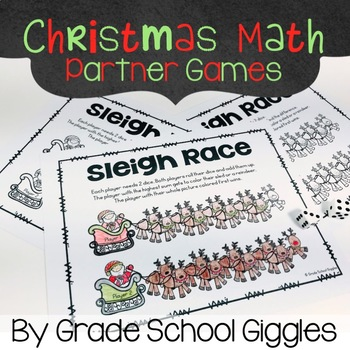 Christmas Math: Free Addition, Subtraction, and Multiplication Games