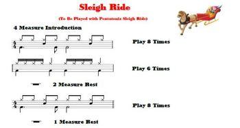 Sleigh Ride (Bucket Drum)