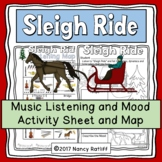 Sleigh Ride Music Listening and Mood Activities and Worksheet