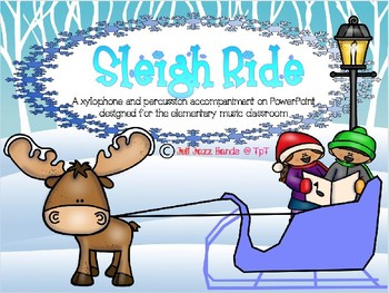 Sleigh Ride: Xylophone and Percussion Accompaniment