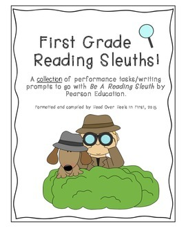 Sleuth Close Reading Performance Tasks