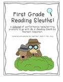 Sleuth Close Reading Performance Tasks