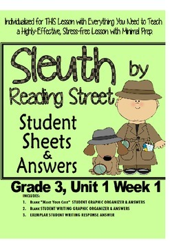 Sleuth Reading Street, Gr. 3 Unit 1 Wk 1, When Charlie McButton Lost Power