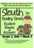 Sleuth Reading Street, Gr. 3 Unit 1 Wk 3, Kumak's Fish