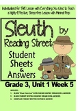 Sleuth Reading Street, Gr. 3 Unit 1 Wk 5, My Rows and Piles of Coins
