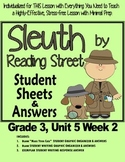Sleuth Reading Street, Gr. 3 Unit 5 Wk 2, I Love Saturdays y domingos