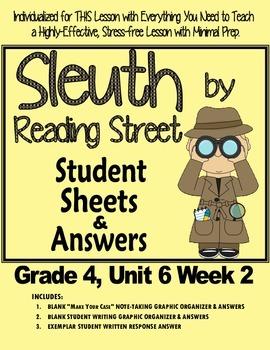 Sleuth Reading Street, Gr. 4 Unit 6 Wk 2, Jim Thorpe's Bright Path