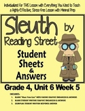 Sleuth Reading Street, Gr. 4 Unit 6 Wk 5, Man Who Went to the Far Side of Moon