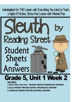Sleuth Reading Street, Gr. 5, Unit 1 Wk 2, Thunder Rose