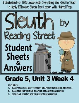 "Sleuth, Reading Street, Gr. 5 Unit 3 Wk 4 ""A Week of the Blues"" Mahalia Jackson"