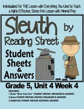 Sleuth Reading Street, Gr. 5 Unit 4 Wk 4, The Storm Giovanni Club