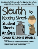 Sleuth Reading Street, Gr. 5 Unit 5 Wk 4, Journey to the Center of the Earth