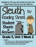 "Sleuth Reading Street, Gr 5. Unit 3 Wk 2 ""Team Sports"" Leonardo's Horse"