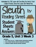 "Sleuth Reading Street, Gr 5. Unit 3 Wk 3 ""Bone & the Tooth"" Dinosaurs Waterhouse"