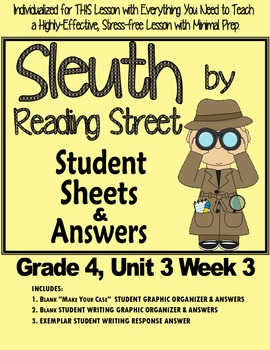 Sleuth Reading Street, Gr. 4 Unit 3 Wk 3, Story of the Sea
