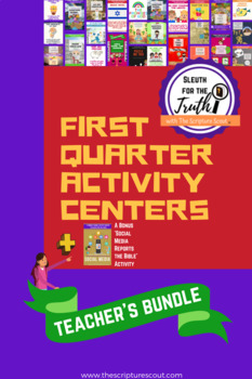 SLEUTH FOR THE TRUTH: 27 Activity Centers, Quarter 1