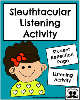 Sleuthtacular Listening Activity