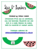 Slice O' Numbers: Matching Sets to Numerals and Number Words