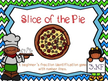 Slice Of the Pie - Fraction Game w/2 Extension Activities