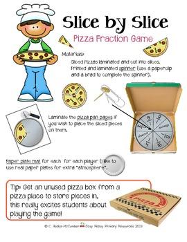 Slice by Slice Pizza Fraction Game