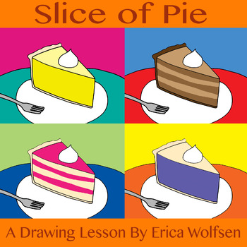Slice of Pie Drawing Lesson