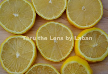 Sliced Lemons Stock Photo #237