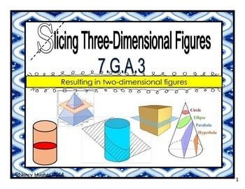 Slicing Three-Dimensional Figures
