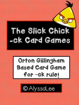 Slick Chick Card Game- Orton Gillingham