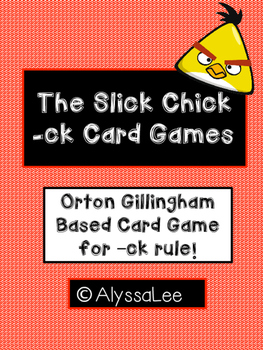 Slick Chick Card Game- Orton Gillingham