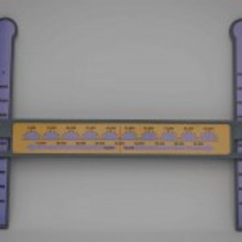 Slide-A-Round 100,000X Rounding Math Manipulative- Roundin