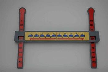 Slide-A-Round 100X Rounding Math Manipulative- Rounding 10