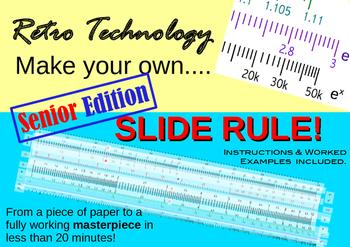 Slide Rule - Senior Edition