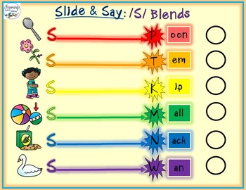 S-Blend Phonology Mats: Consonant Cluster Reduction & Stopping