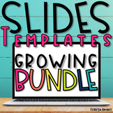 Slide Templates for Google Slides & PowerPoint Growing Bun