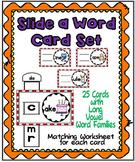 Slide a Word-Long Vowels Family Set
