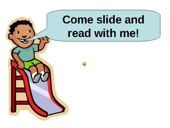 Slide and Read Short Vowel E