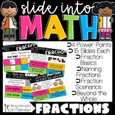 Slide into Math:  Fraction PowerPoints