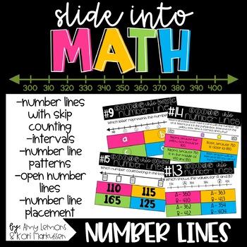 Slide into Math:  Number Lines