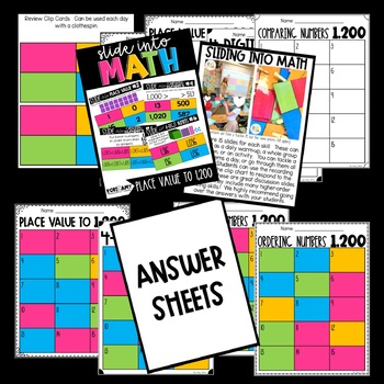 Slide into Math:  Place Value to 1,200