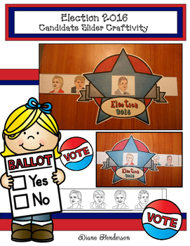 Slider Craft For The 2016 Presidential Election Candidates