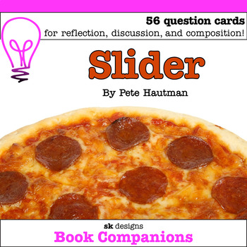 Slider by Pete Hautman Discussion Question Cards; Classroom & Distance Learning