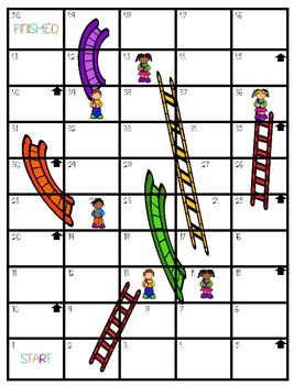 Slides N Ladders- Antonyms Game Board