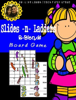 Slides N Ladders- R-Blends Game Board