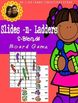 Slides N Ladders- S-Blends Board Game
