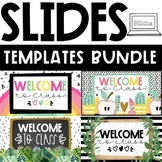 GOOGLE Slides Templates - The BUNDLE Distance Learning