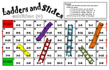 Slides and Ladders Add or Multiply